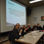 De debat-avond 'Huurders in de Knel' druk bezocht
