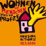 28 maart 2020: Wonen voor mensen, niet voor de winst!